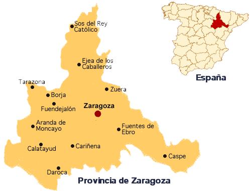 Mapa De Zaragoza Newhairstylesformen2014 Com