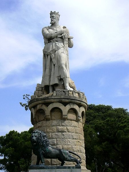 Estatua Alfonso I el Batallador